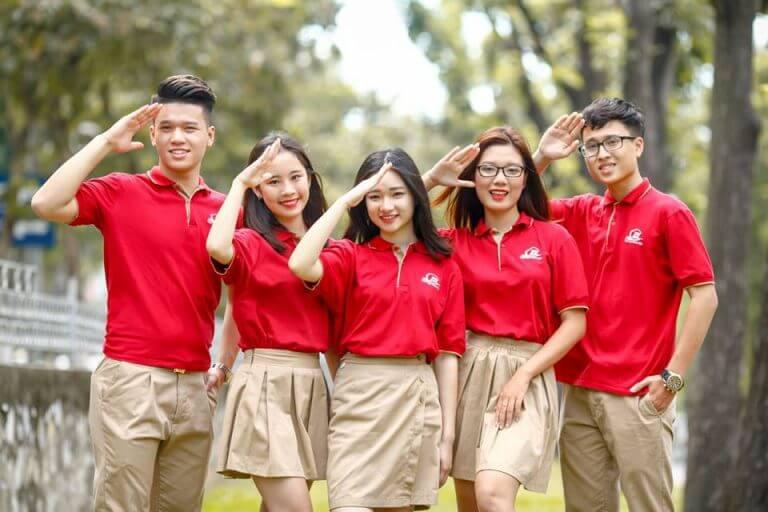 May đồng phục chuyên nghiệp tại Hà Thành