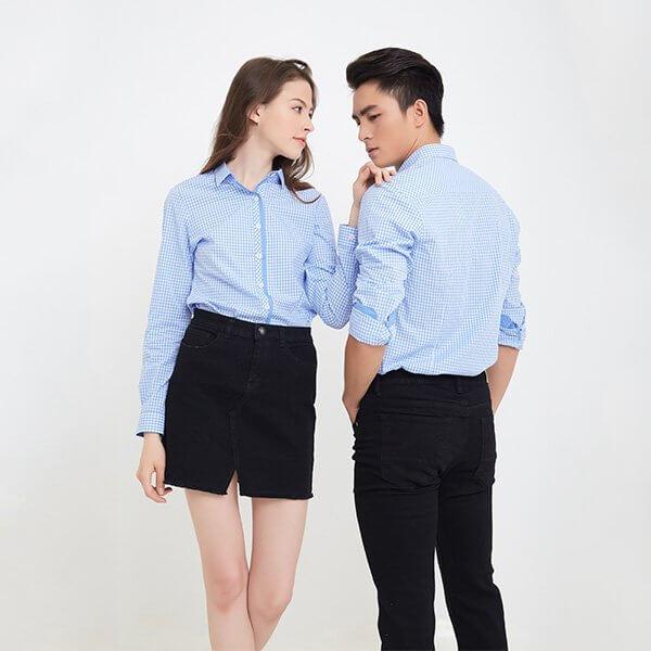 May áo đồng phục nhân viên uy tín số 1 tại Hà Nội